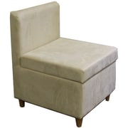 ORE Furniture Side Chair with Storage; Cream