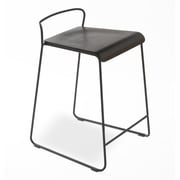 TFG Transit 24'' Bar Stool; Black