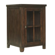 Tresanti Dakota 1 Door Storage Cabinet; Caramel Oak