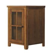 Tresanti Dakota 1 Door Storage Cabinet; Premium Oak