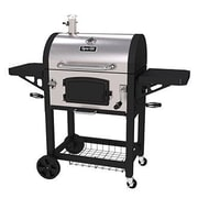 Dyna-Glo Charcoal Grill with Grates and Charcoal Door; Stainless Steel