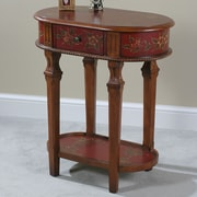 Ultimate Accents Crimson End Table
