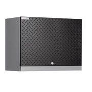 NewAge Products Performance Diamond Series 18'' H x 24'' W x 12'' D Wall Cabinet; Black