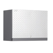 NewAge Products Performance Diamond Series 18'' H x 24'' W x 12'' D Wall Cabinet; Silver