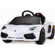 Big Toys Rastar Lamborghini Aventador LP700-4 6V Battery Powered Car; White