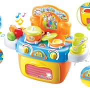 Berry Toys My First Portable Kitchen Play Set; Yellow