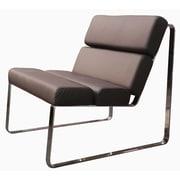 Whiteline Imports Angel Side Chair; Chocolate