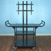 VTI Large Flat Panel AV Cart for 55'' Monitor