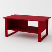 Altra Coffee Table; Ruby Red