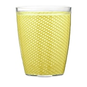 Kraftware Fishnet Double Wall Insulated Tumbler II (Set of 4); Lemon