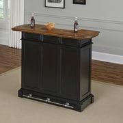 Home Styles Americana Home Bar; Black