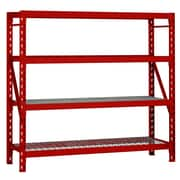 Edsal-Sandusky 77'' H Steel Four Shelf Shelving Unit