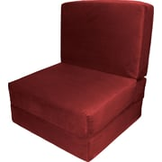 Epic Furnishings LLC Nomad Convertible Chair; Cardinal Red