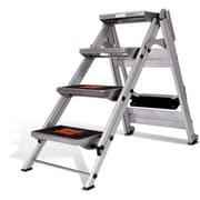 Little Giant Ladder 4.58 ft Aluminum Safety Step Ladder w/ 300 lb. Load Capacity