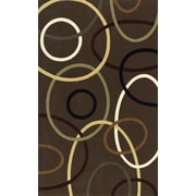 Momeni Elements Brown Area Rug; 5' x 8'
