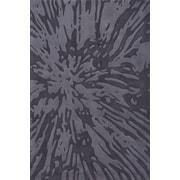 Momeni Bliss Charcoal Area Rug; 2' x 3'