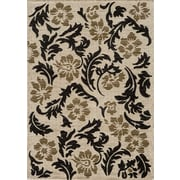 Momeni Dream Ivory Floral Area Rug; 3'11'' x 5'7''