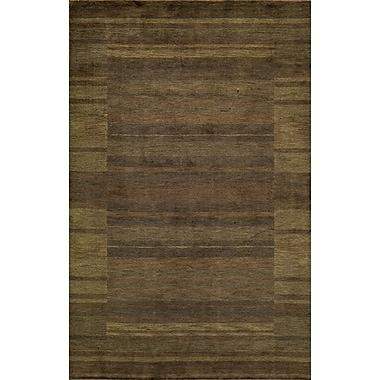 Momeni Gramercy Hand-Woven Brown/Beige Area Rug; 3'6'' x 5'6''