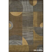 Momeni Dream Brown/Gray Area Rug; 2' x 3'