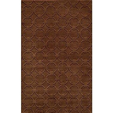 Momeni Gramercy Hand-Loomed Copper Area Rug; Runner 2'6'' x 8'