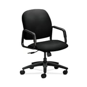 HON  Solutions Seating  HON4001CU10T Fabric High-Back Office/Computer Chair, Fixed Arms, Black