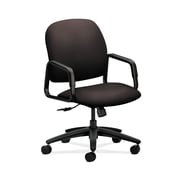 HON  HON4001CU49T Solutions Seating  High-Back Office/Computer Chair, Fixed Arms, Espresso Fabric