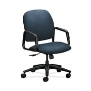 HON  HON4001CU90T Solutions Seating  High-Back Office/Computer Chair, Fixed Arms, Cerulean Fabric