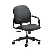 HON  HON4001NR10T Solutions Seating  High-Back Office/Computer Chair, Fixed Arms, Onyx Fabric
