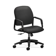 HON  HON4001SX23T Solutions Seating  Fabric-Upholstered High-Back Office/Computer Chair, Fixed Arms, Carbon