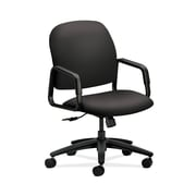 HON  Solutions Seating  HON4001WP39T High-Back Office/Computer Chair, Fixed Arms, Charcoal Fabric