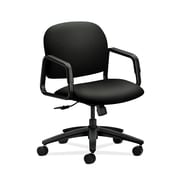 HON  HON4002WP40T Solutions Seating  Black Mid-Back Office/Computer Chair with Fixed Arms