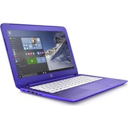 "HP  Stream 13-C100 13.3"" LED LCD Intel Celeron N3050 Dual-Core 32GB HDD 2GB RAM Windows 10 Notebook, Violet Purple"