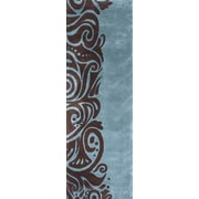 Momeni New Wave Turquoise Area Rug; Runner 2'6'' x 8'