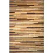 Momeni New Wave IV Natural Area Rug; 8' x 11'