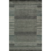 Momeni Gramercy Hand-Loomed Blue/Gray Area Rug; Runner 2'6'' x 8'