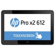 "HP® Pro x2 612 G1 P3E15UT#ABA 12.5"" Tablet PC, 256GB SSD, Windows 10 Pro, Black"
