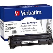 Verbatim® 99225 Black 2200 Pages High Yield Remanufactured Toner Cartridge for HP LaserJet P1002/1003 Laser Printer