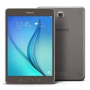 "Samsung Galaxy Tab A SM-T350 8"" Tablet, 16GB, Android 5.0 Lollipop, Smoky Titanium"