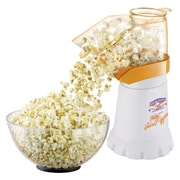 Great Northern Popcorn Hot Air Popcorn Popper; White / Yellow