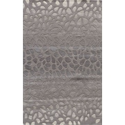 Momeni Delhi Silver Area Rug; 5' x 8'