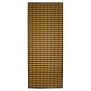 Textiles Plus Inc. Bamboo Rayon Floor Runner Outdoor Area Rug; 60'' x 24'' x 0.3''