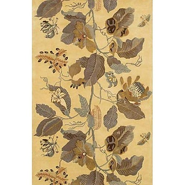 Chandra Verona Tan Area Rug; Runner 2'6'' x 7'6''
