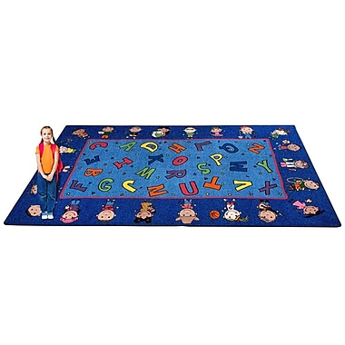 Kid Carpet Friends Together Friendship Area Rug; 6' x 8'6''