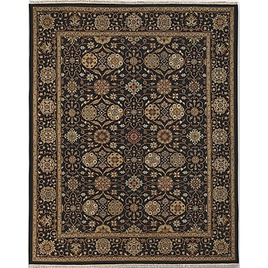 AMER Rugs Soumak Holland Park Ebony Area Rug; 10' x 14'