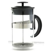 Grosche International Caf  Au Lait 33.81 Oz. French Press & Milk Frother Coffee Set; Black