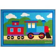 Wildkin Olive Kids Trains, Planes, Trucks  Area Rug; 3'3'' x 4'8''