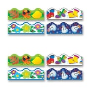 Trend Enterprises Terrific Trimmers, Pre-cut, Reusable, Four Seasons Classroom Border