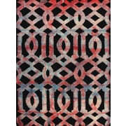 AMER Rugs Shibori Dark Gray Area Rug; 7'6'' x 9'6''