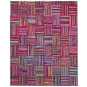 St. Croix Brilliant Ribbon Tiles Tufted Area Rug; 8' x 10'