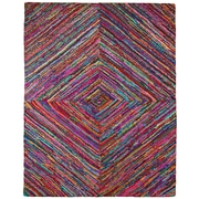 St. Croix Brilliant Ribbon Vortex Tufted Area Rug; 8' x 10'